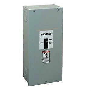 Siemens E2N1S Steel Molded Case Circuit Breaker Enclosure 100A 600V  Type 1 *New