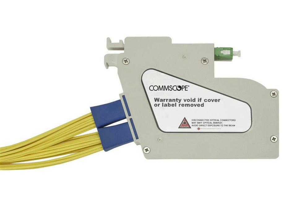 CommScope FPS-MPP1MJJ FDH 3000 Plug-and-Play Splitter Module Dual 1x16 CTO-FPS