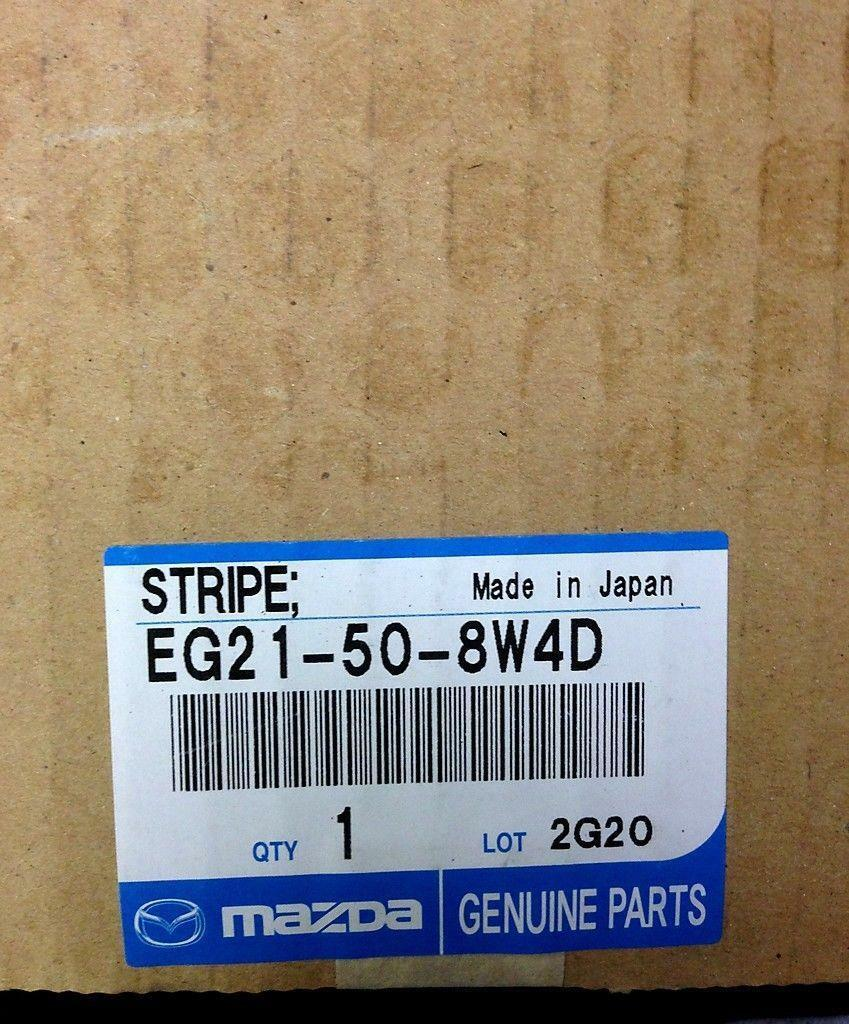 Genuine Mazda Body Stripe No. 4 Left Side EG21-50-8W4D *New & Free Shipping*
