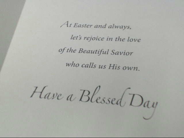 "American Greetings Religious Easter Card ""Jesus is the Joy"" Retail Pack of 6"