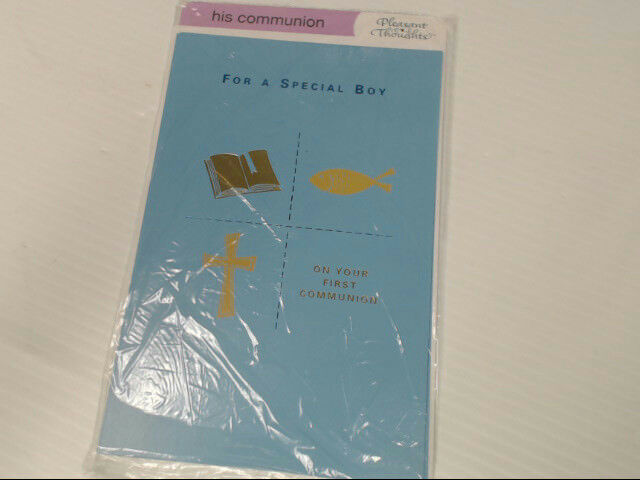 "American Greetings His Communion Card ""For a Special Boy"" First Retail Pack of 3"