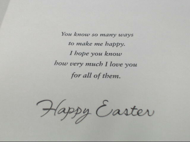 "American Greetings Romance for Him Easter Card ""Love Is"" Retail Pack of 6"