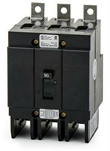 Eaton Culter-Hammer GHB3090 Molded Case Circuit Breaker GHB 3 Pole 90A 277/480V