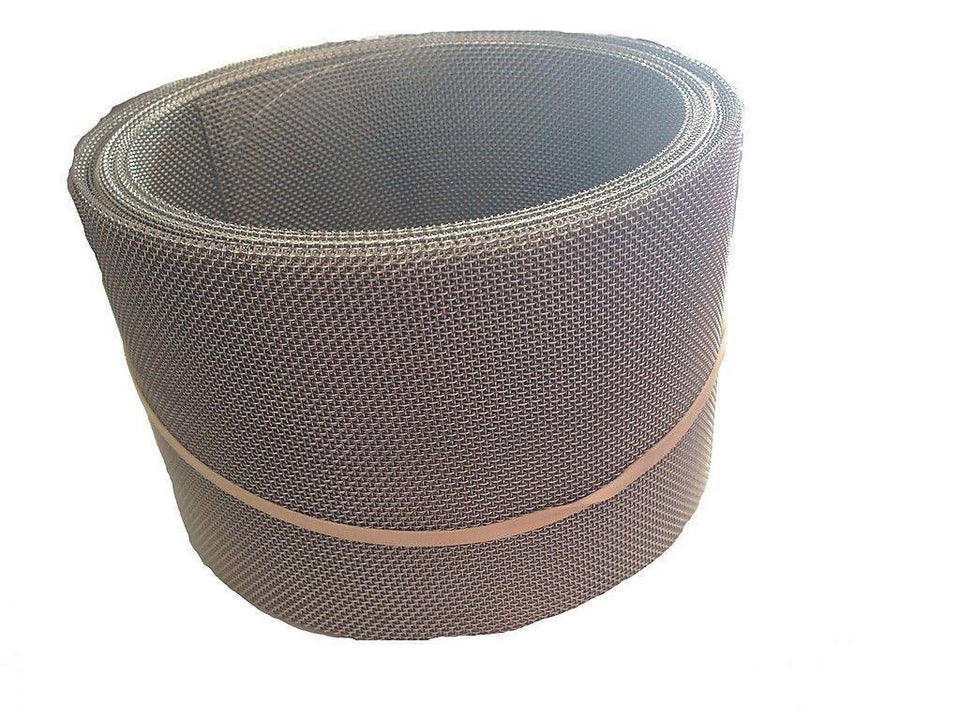 Valley Screen 20 Mesh SS Wire LeafFilter 3.5 in x 25 ft. Roll Pack of 2 Rolls