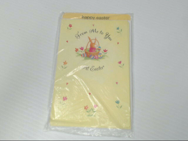 "American Greetings Happy Easter Card ""From Me to You at Easter"" Retail Pack of 6"