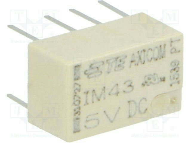 TE Connectivity 5-1462037-8 Axicom Latching Telecom Signal Relay DPDT 2A 5V