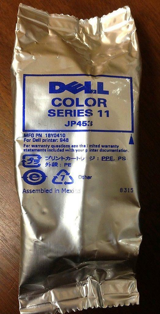 Genuine Dell JP453 Series 11 High Capacity Color Ink Cartridge