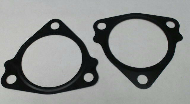 "Triangle 2-1/4"" ID Turbo Exhaust 3-Bolt Gasket Black .0125"" Thick *Pack of 2*"