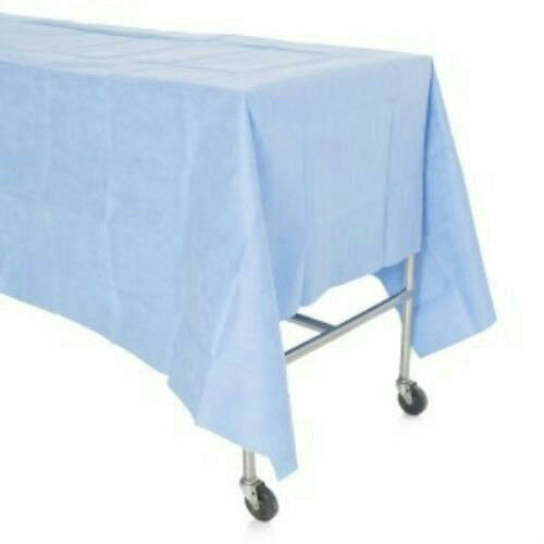 "Kimberly-Clark 42301 Standard Back Table Cover 44"" x 88"" Reinforced Fan Fold"