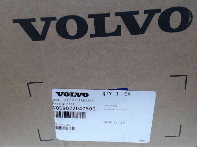 Volvo 9022040500 Air Compressor VOE9022040500 *Brand New & Free Shipping*