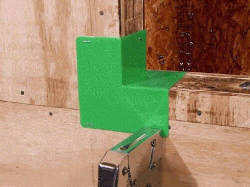 Grace Vycorner Prefabricated Window & Door Flashing Corners Green *Box of 50*