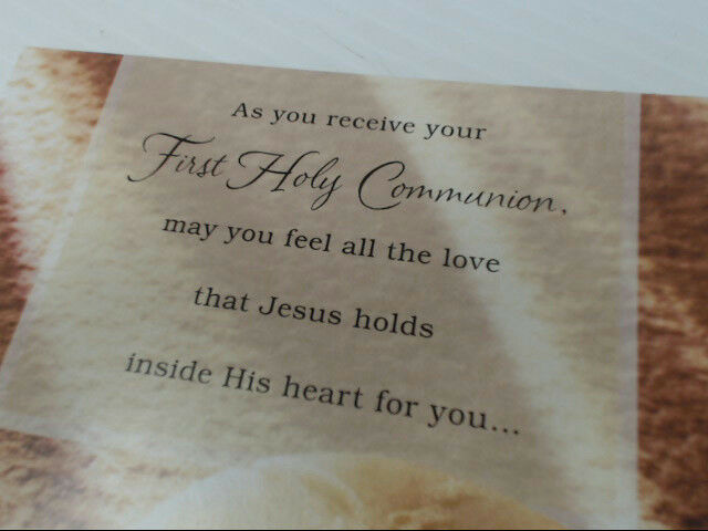 "American Greetings Communion Card ""As You Receive Your"" First Retail Pack of 6"