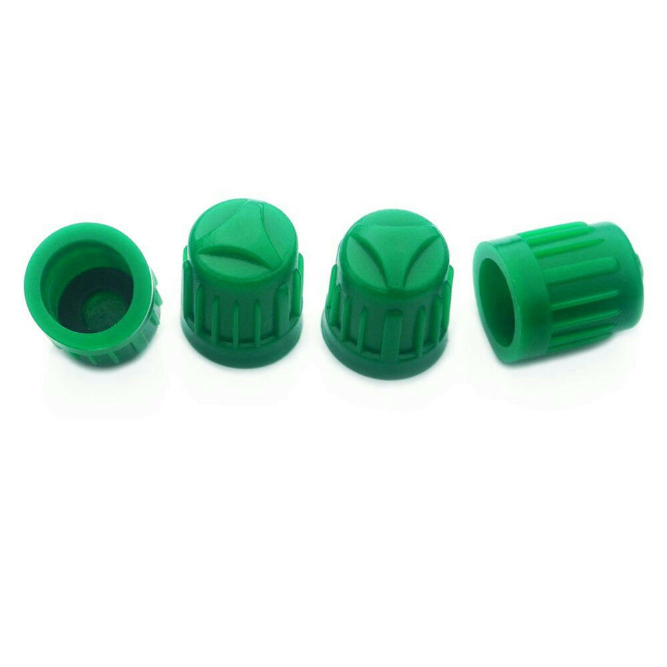 Dill Air Controls 897 Green Nitrogen Tire Valve Stem Caps *Pack of 4*