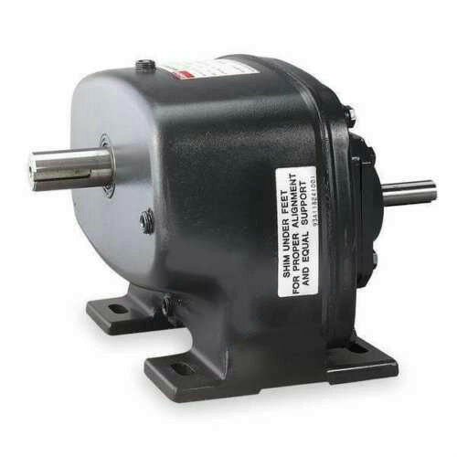 Dayton 4Z859 Speed Reducer 31:1 Indirect Drive 712 Overhung Load Single Output