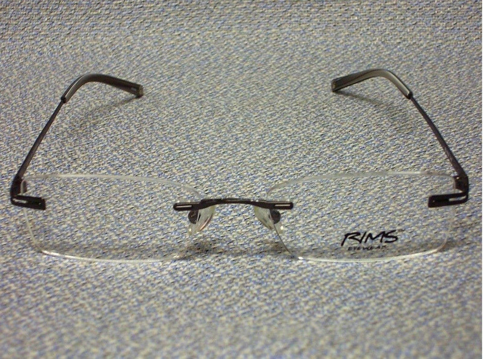 Eco RIMS Eyeware 1013 Gunmetal Eye Glasses