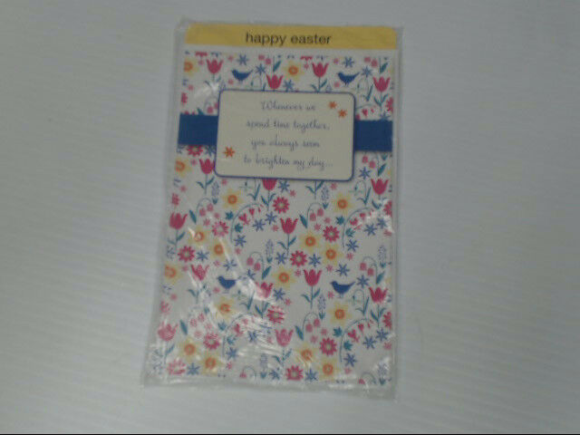 "American Greetings Happy Easter Card ""Whenever We Spend Time"" Retail Pack of 6"