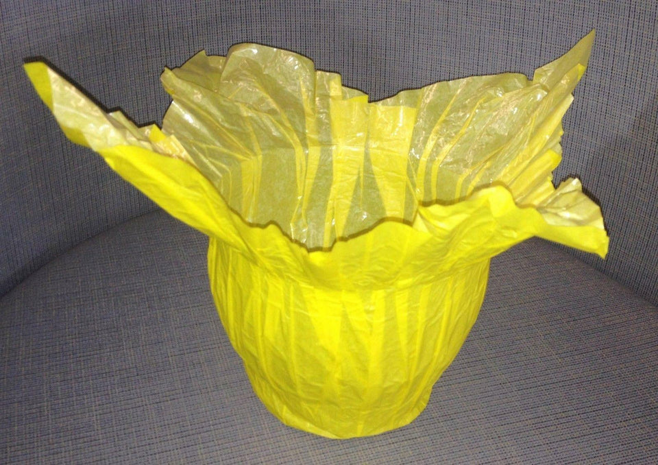 "Highland 6"" Sun Yellow 4 Corner Billowet Plant Speed Covers Qty 100 *FREE SHIP*"