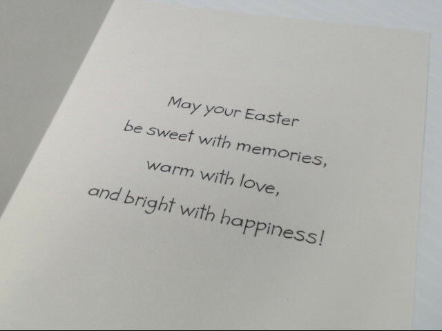 "American Greetings Happy Easter Card ""Easter Wishes Just For"" Retail Pack of 6"