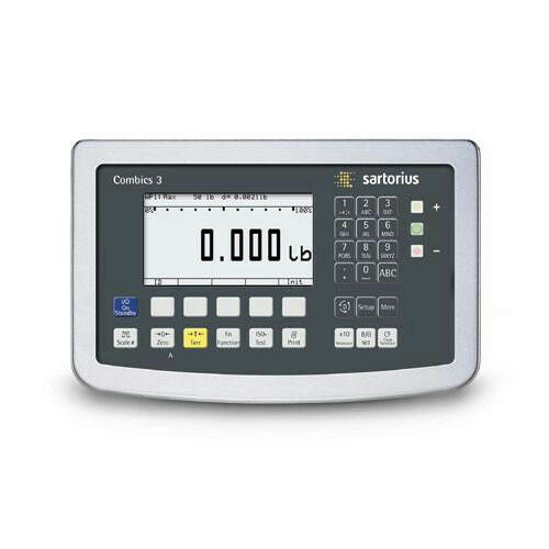 Sartorius CAISL3-U Combics 3 Digital Weight Indicator Pre-Wired Backlit Display