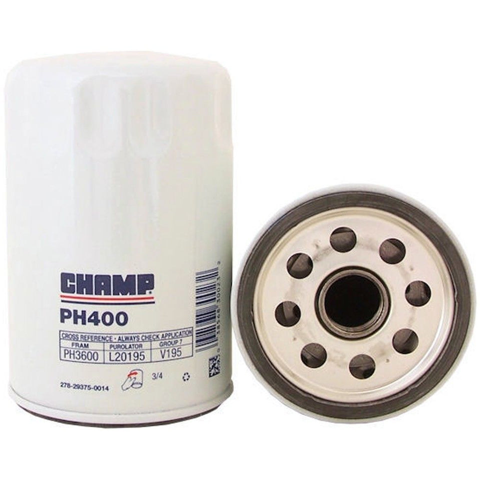 Champ Champion Labs PH400 Oil Filter Replace Fram PH3600, Purolator L20195