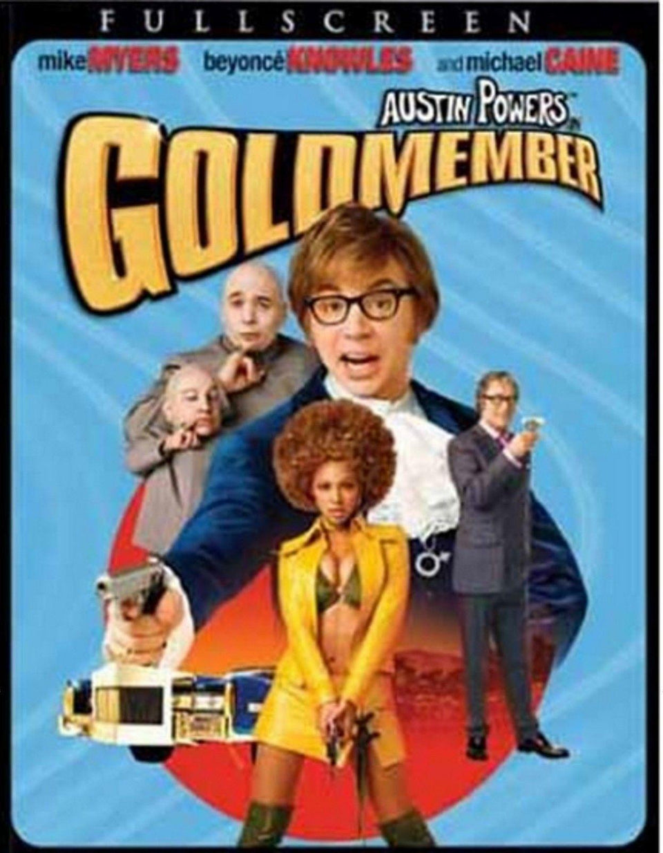 Austin Powers in Goldmember Fullscreen infinifilm DVD *Very Good*
