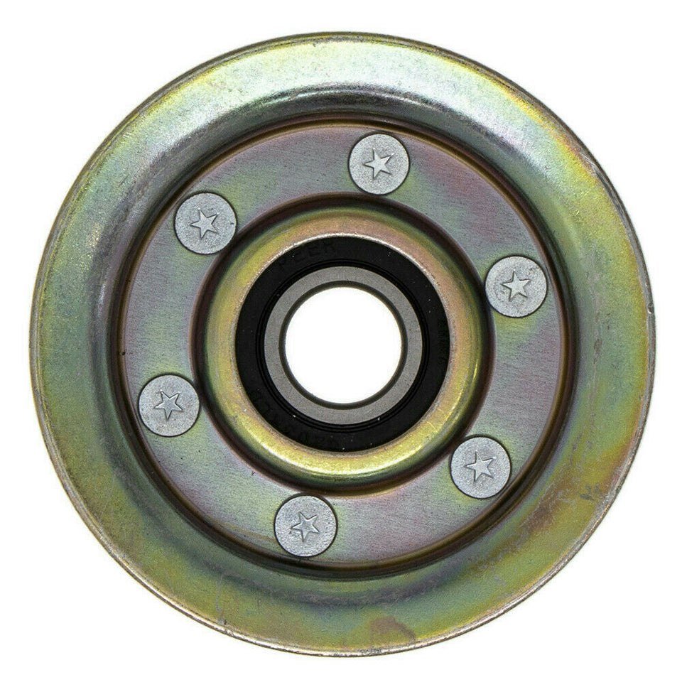 "MaxPower 3-5/8"" OD 11/16"" ID Flat Idler Pulley for John Deere GY20067, GY22172"