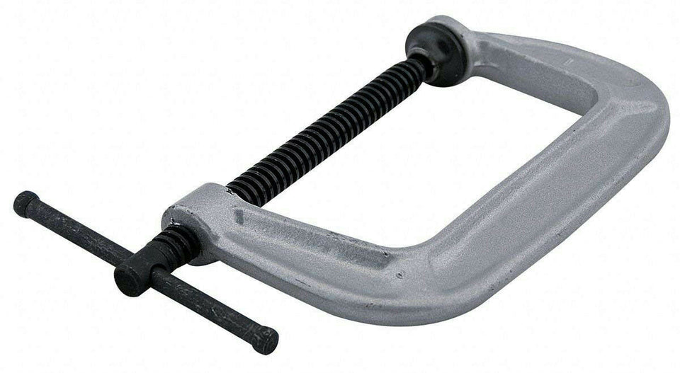 "Wilton 41406 144C Carriage C-Clamp 4"" Iron Heavy Duty 1535 lb. 2-3/4"" Throat"