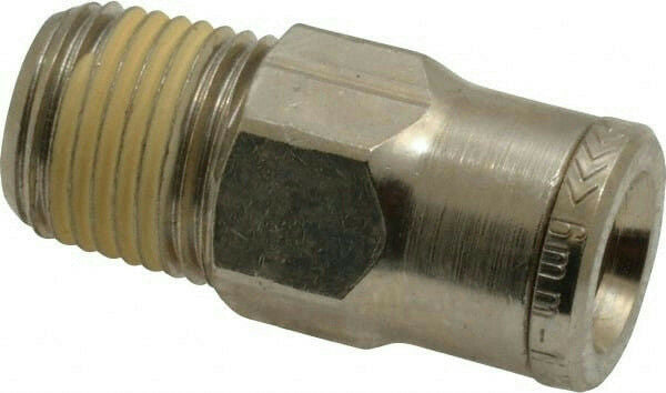 "IMI Norgren 104250618 Pneumatic Male Adapter Fitting 6mm Tube x 1/8"" NPT"