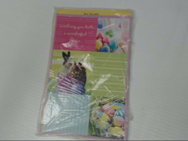 "American Greetings To Both Easter Card ""Wishing You Both A"" Retail Pack of 6"