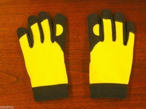 VLMECH10 XL Gardening Gloves Yellow/Black CB6131 Pack of 6 Pair *Free Shipping*