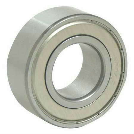 JAF 5307-ZZ Double Row Angular Contact Ball Bearing 80mm OD, 35mm Bore, 11100lb.
