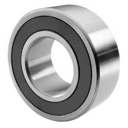 JAF W307-2RS Radial Ball Bearing 80mm OD, 35mm Bore, 52100 Steel, 5400 RPM