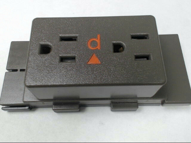 Herman Miller A1311.D Cubical Panel Duplex Receptacle AO Series Medium Tone QTY3