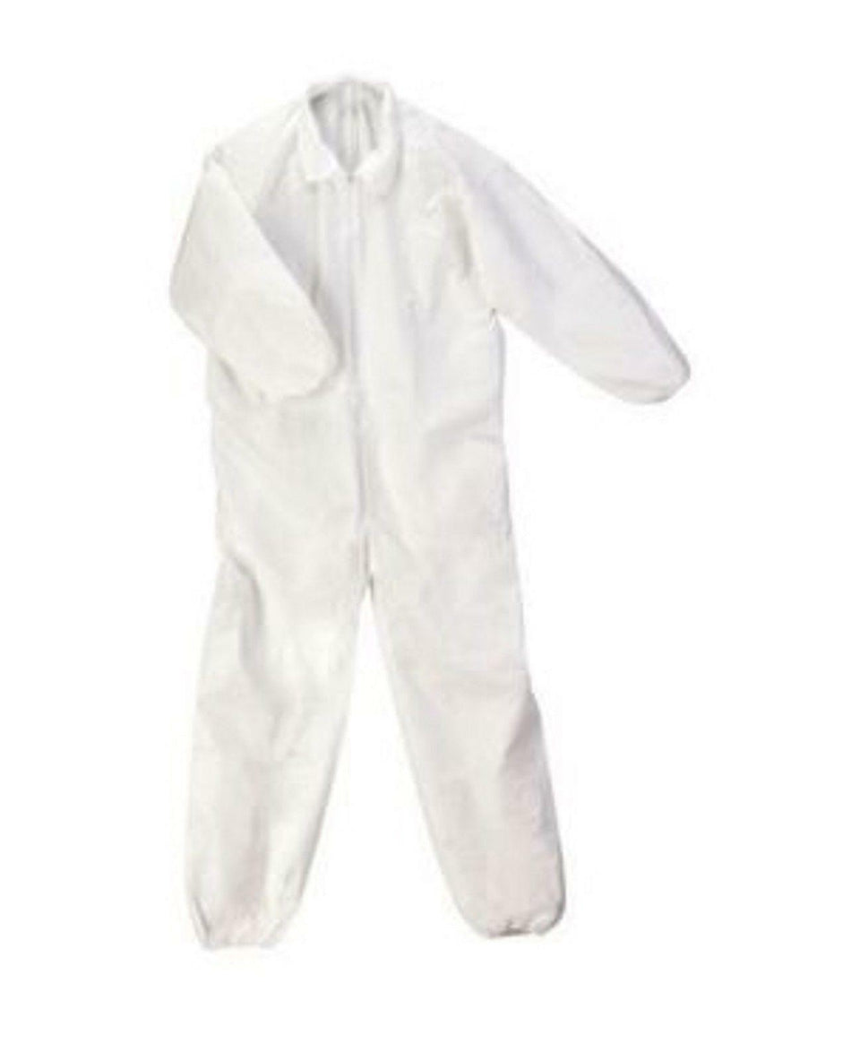 VWR Advanced Protection Irradiated White Coverall X-Large 414004-446 Box 25 *New