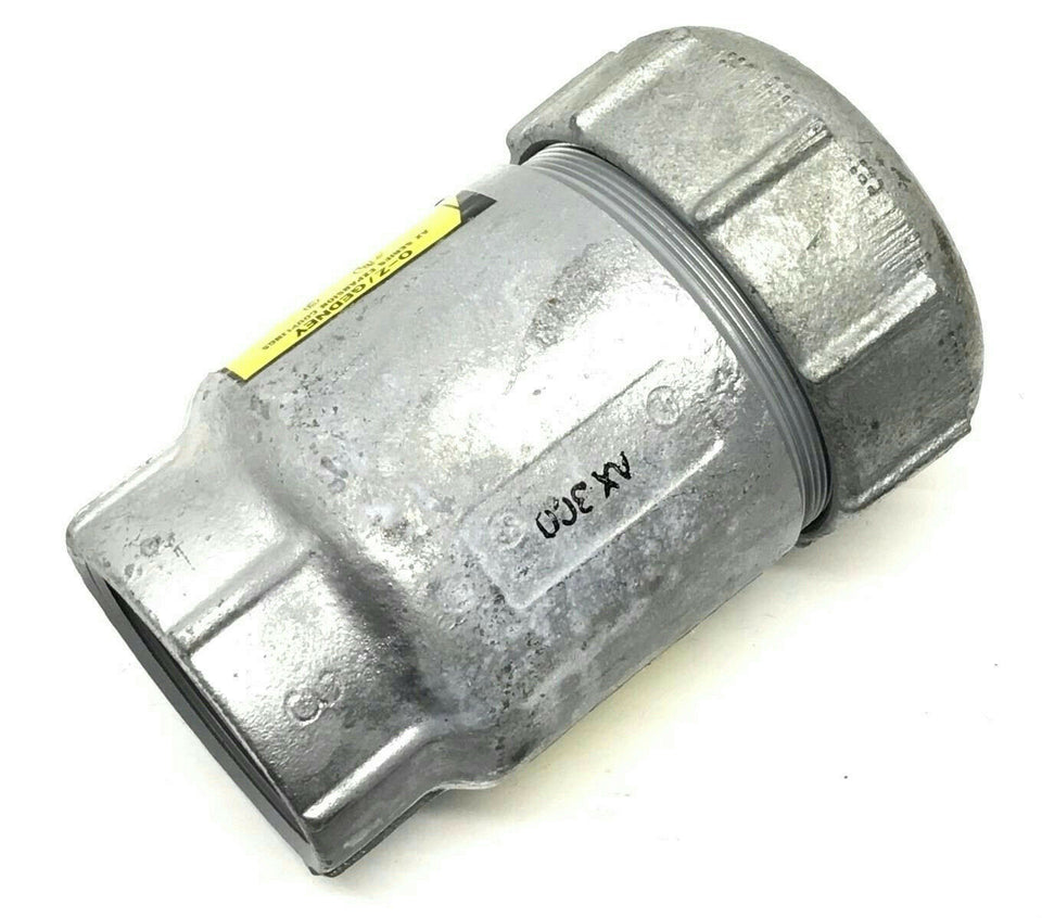 "O-Z Gedney AX-300 3"" Iron Expansion Joint Coupling Fitting Maximum 4"" Movement"
