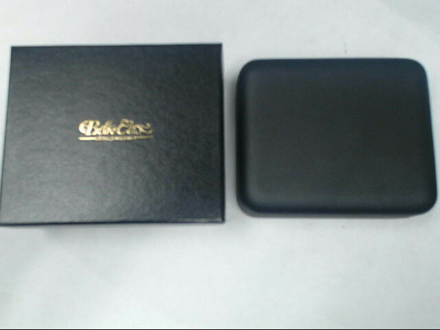 "Belk & Co EMPTY Black 3"" x 4"" Jewelry Necklace Case without Pad *New with Box*"