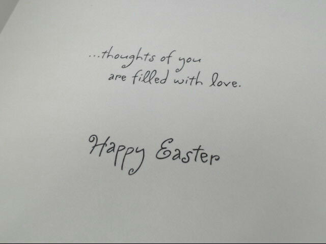 "American Greetings Happy Easter Card ""At Easter and Always..."" Retail Pack of 6"