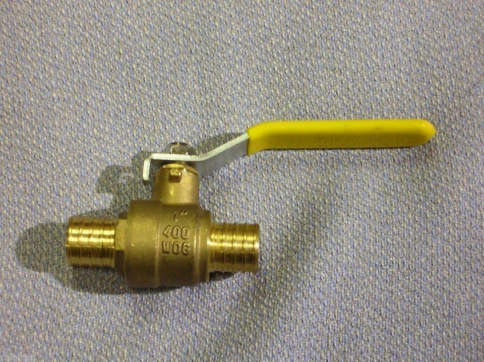 "Boston Metal Products 1"" Galvanized 400 WOG Water Valve"