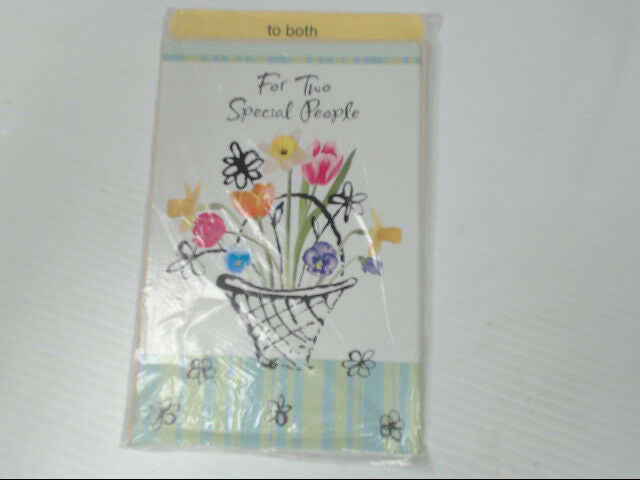 "American Greetings To Both Easter Card ""For Two Special People"" Retail Pack of 6"