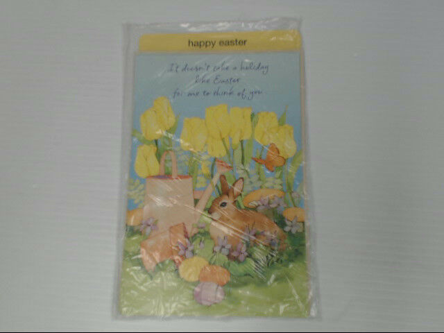 "American Greetings Happy Easter Card ""It Doesn't Take A"" Retail Pack of 6"