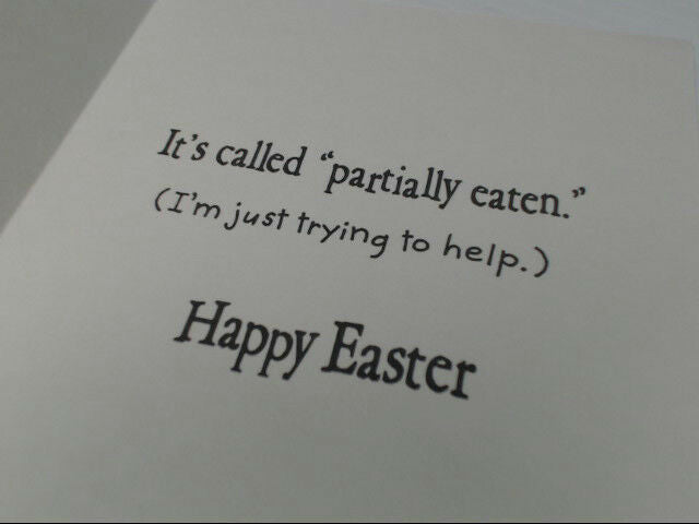 "American Greetings Happy Easter Funny Card ""Have You Heard"" Retail Pack of 6"