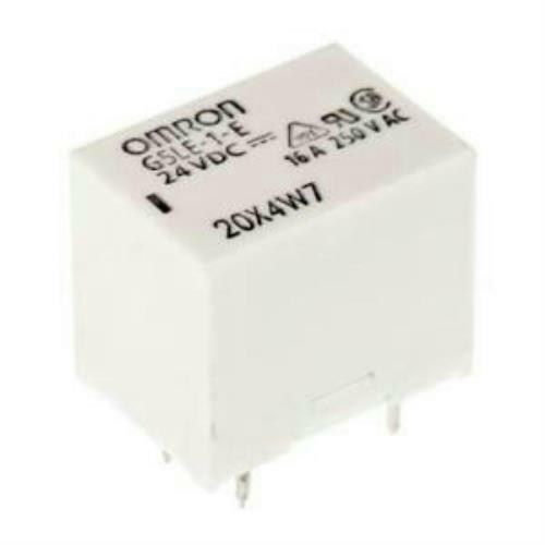 Omron G5LE-1-E DC24 PCB Mount Power Relay SPDT 250V 16A Contacts 24VDC Pack of 3
