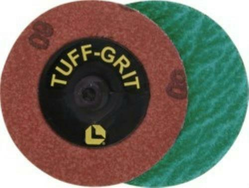"Lawson 27356 Tuff-Grit Twist-On Grinding Disc 2"" Diameter 40 Grit"