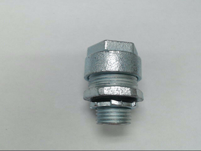 "Emerson O-Z Gedney 4Q-50 Straight 1/2"" Liquidtight Connector w/ Sealing Ring"