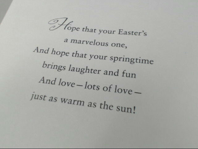 "American Greetings Happy Easter Card ""Have a Wonderful Easter"" Retail Pack of 6"