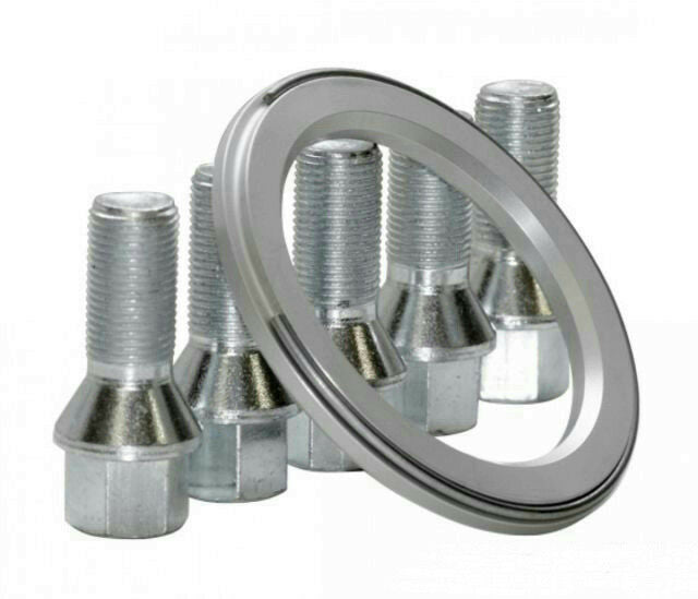 BBS 0931151 Centering Ring PFS Kit 66.5mm 14 X 1.5 Bolts