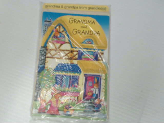 American Greetings Grandma & Grandpa from Grandkids Easter Card Retail Pack of 6