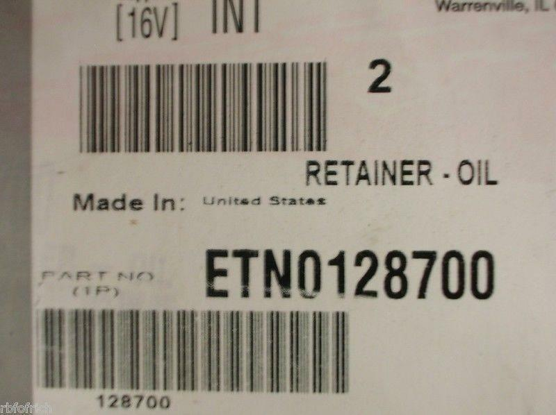 International Navistar Retainer ETN0128700 Pack of 2 *New & Free Shipping*