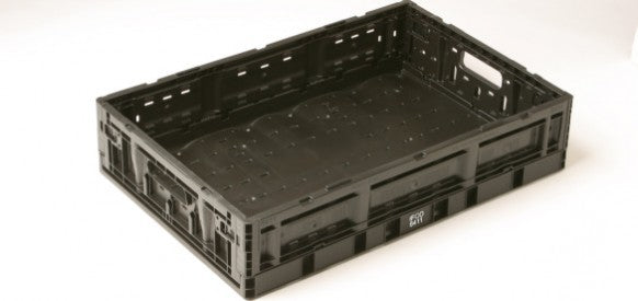 "IFCO 6411 RPC Reusable Packaging Container 23.6"" x 15.7"" x 5.2"" Collapsible"