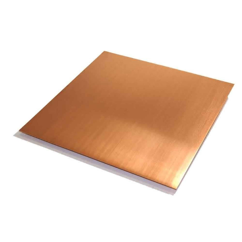 "Copper 99.9% Pure .008"" Thick 32 Gauge Soft 6-1/4"" x 6-1/4"" Sheet"